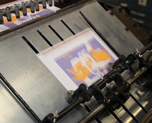 Druck OHZ - Buchdruckkunst