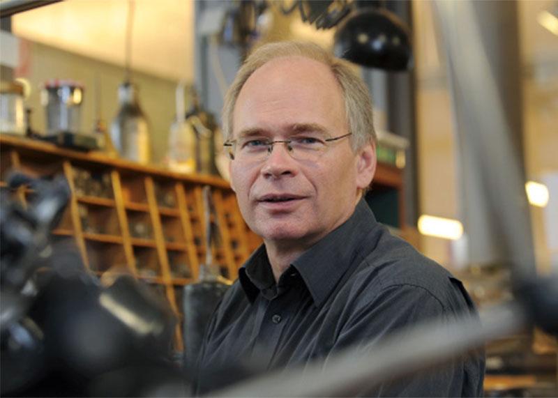 Porträt Klaus Raasch - Buchdruckkunst