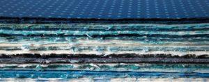 Blaues Japanpapier - Buchdruckkunst