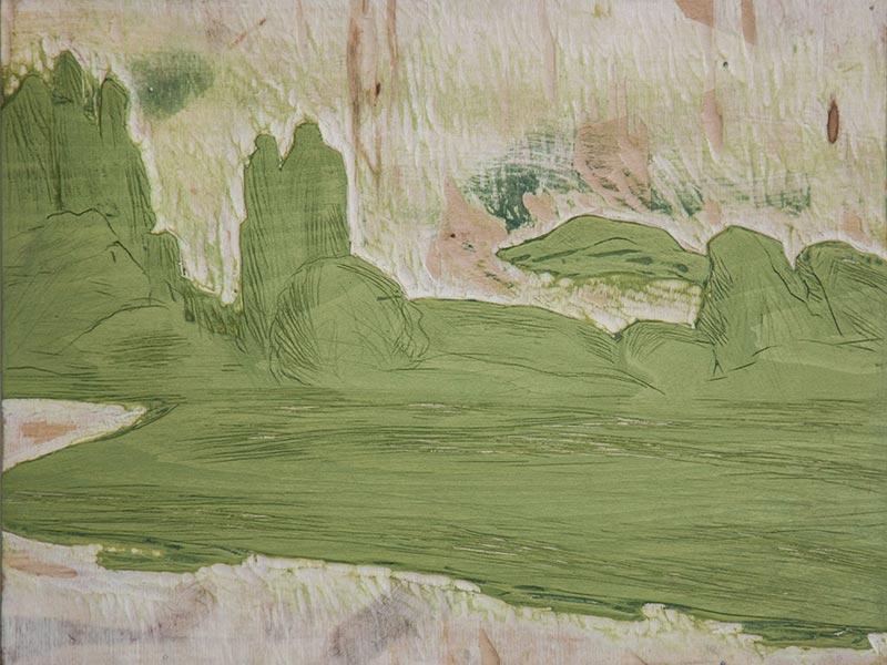 Paradies Landschaft 03 - Buchdruckkunst