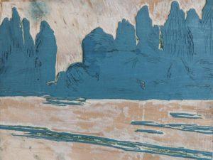 Paradies Landschaft 04 - Buchdruckkunst