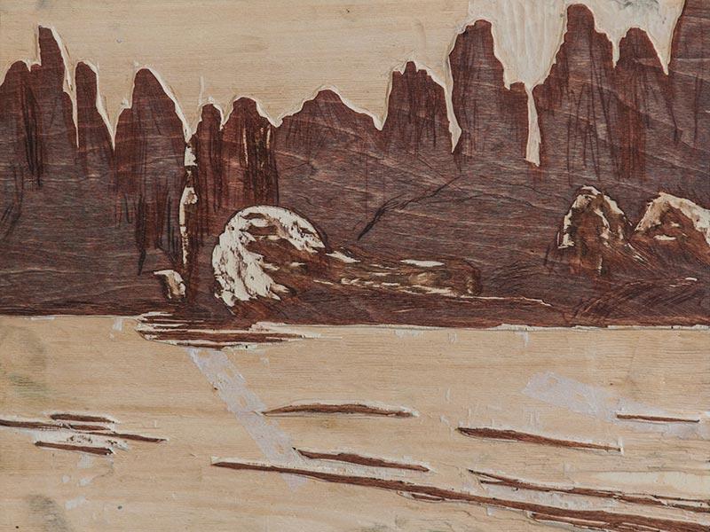 Paradies Landschaft 05 - Buchdruckkkunst