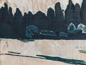 Paradies Landschaft 06 - Buchdruckkunst