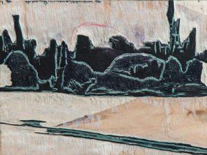 Paradies Landschaft 07 - Buchdruckkunst
